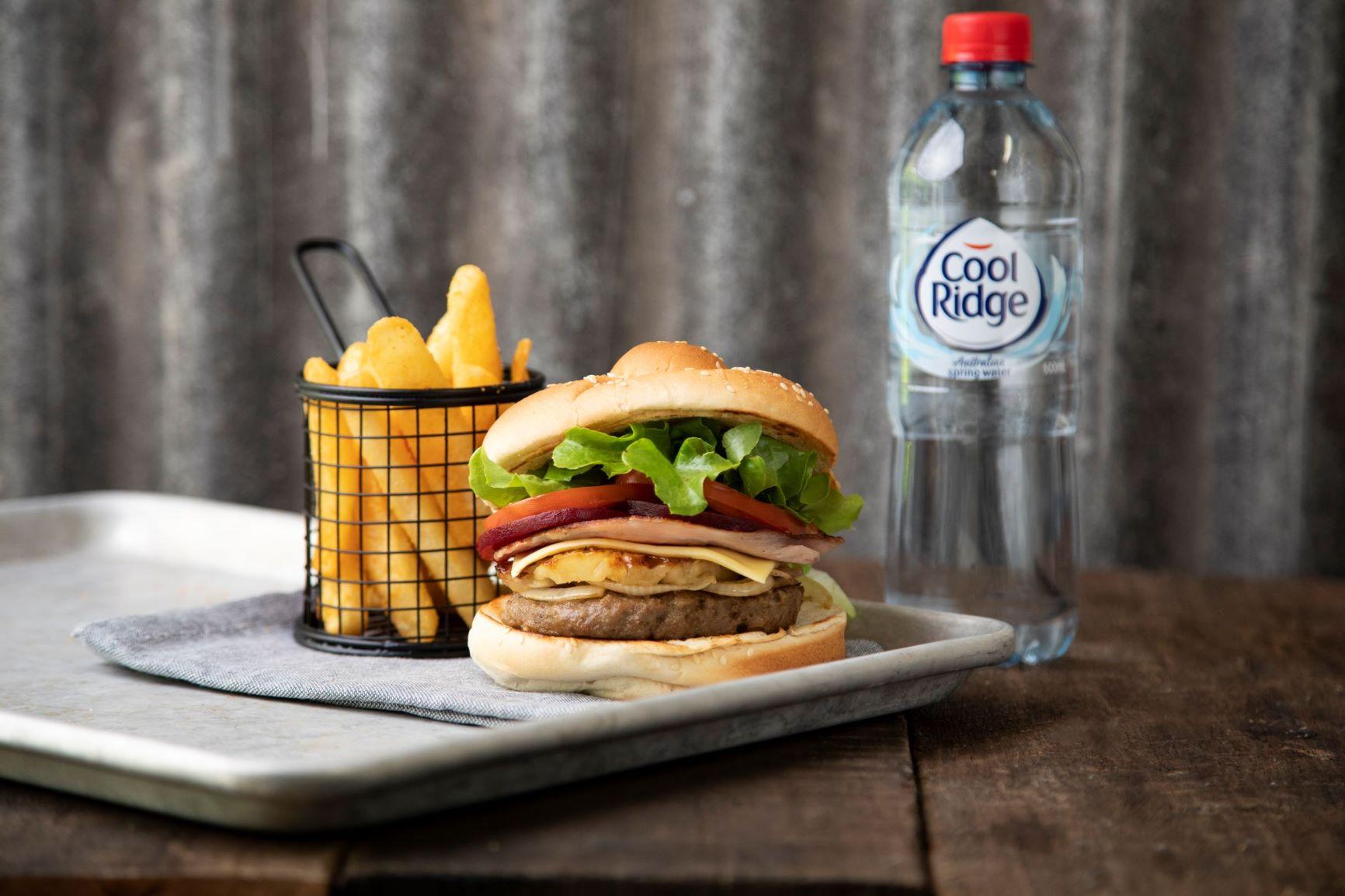 Bucking Bull Aussie Burger Bundle $12
